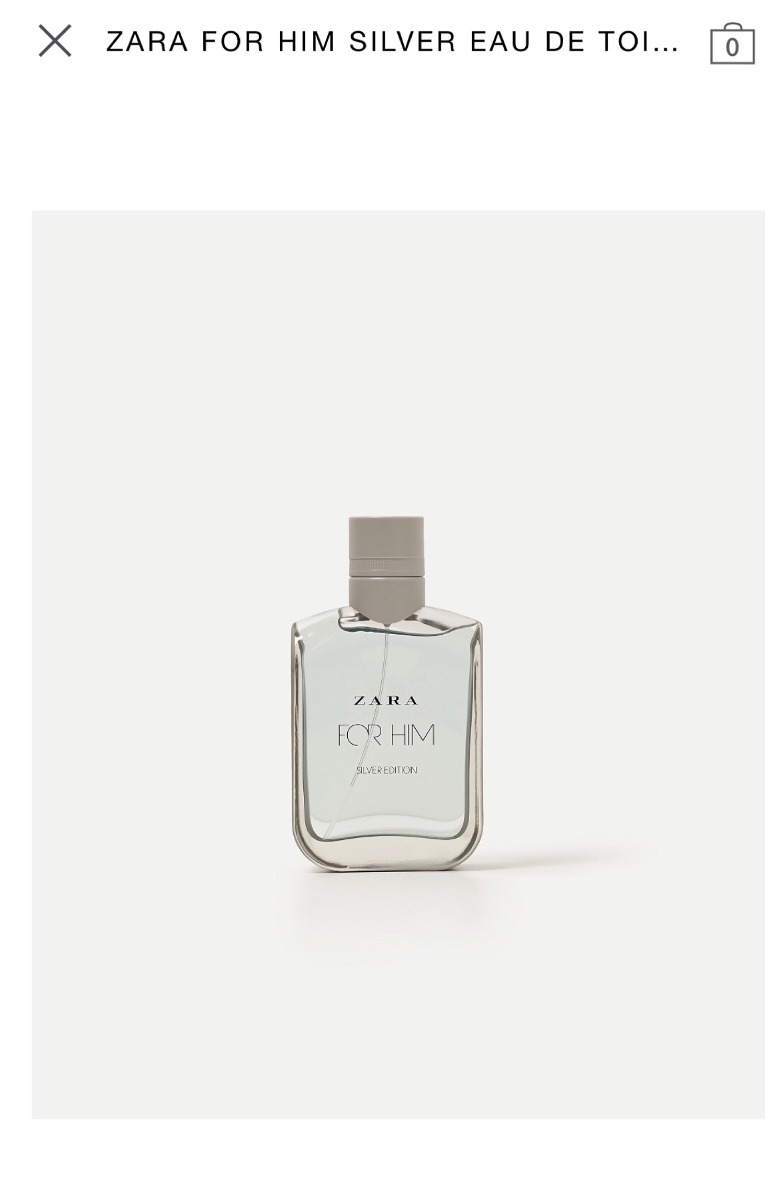 Perfume Zara Man For Him X100ml Envios Original 160000 En Parfum Silver Collection Cargando Zoom