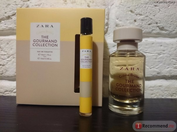 Perfume Zara Mujer Gourmand Collection Creme Broule O Cherry 860