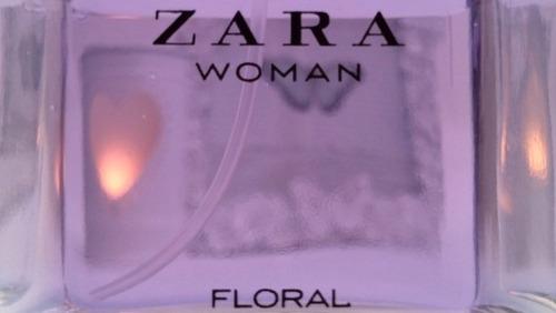 perfume zara woman floral