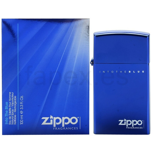 perfume zippo into the blue 100ml para hombre