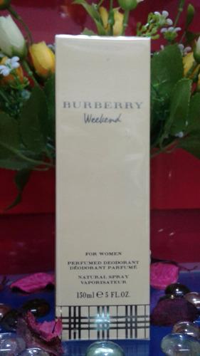perfumed deodorant burberry weekend for women, 150 ml