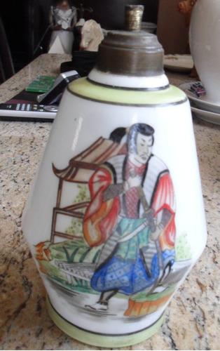 perfumeiro em opalina  antigo pintado a mão