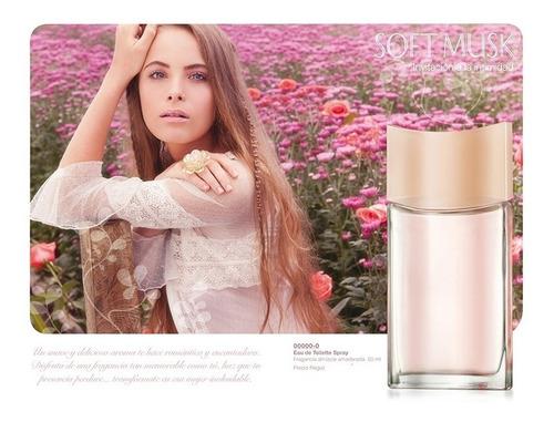 perfume,loción dama: soft musk. avon. 50 ml. original