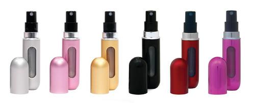 perfumero rellenable de bolsillo para viajes, para el diario