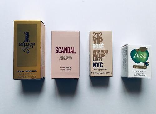 perfumes 1 million scandal nina ricci 212 vip rosé - nyc