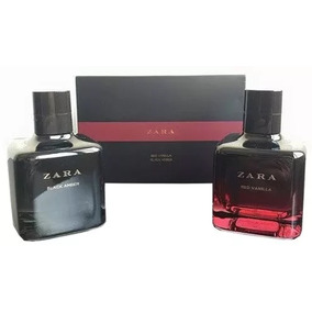 ... Kit Perfume Zara Red Vanilla Black Amber 100 Ml Cada