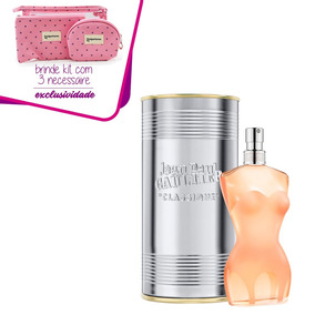 1aed8a645 Jean Paul Gaultier Classique X Collection Feminino Edt 100ml ...