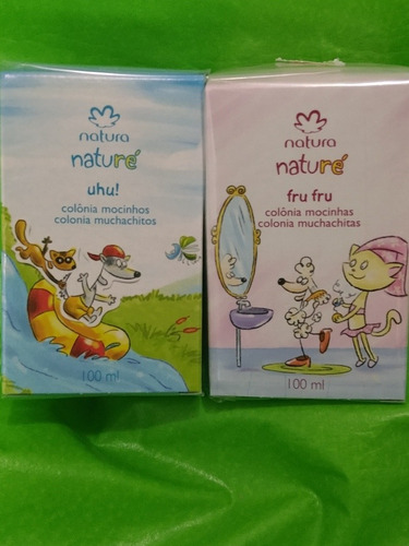 perfumes aguas natura