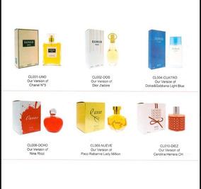 Perfumes Alternativos Mujer Alta Fijación 100 Ml