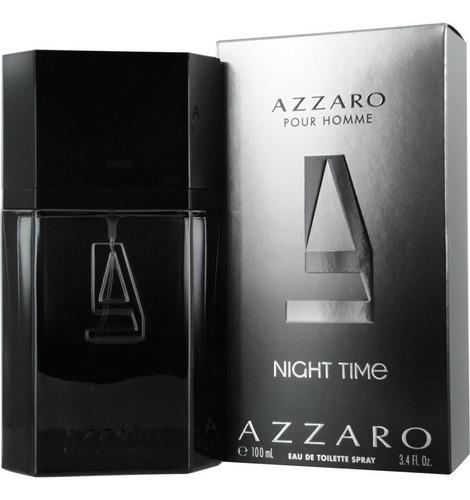 perfumes  azzaro night time 100  ml ¡ original envio gratis¡