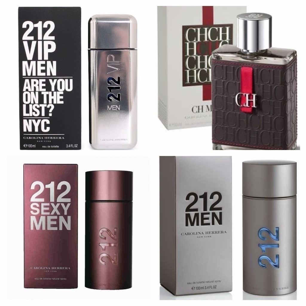 Perfumes Carolina Herrera212 Vip Oferta Ya Bs 260000 En