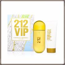 Carolina Herrera 212 Vip Gift Set 80ml+locion Corporal100ml