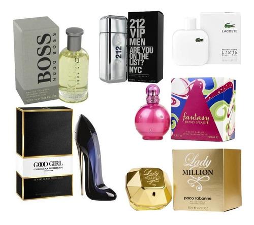 perfumes damas y caballeros al mayor y detal.