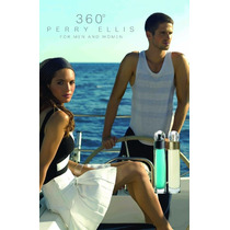 Perfume Perry Ellis 360° For Him, For Her 100ml Envio Gratis