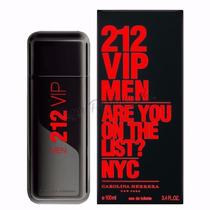 Perfume 212 Vip Black Carolina Herrera Caballeros