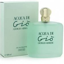Perfume Acqua Di Gio Dama 100ml Original Miami
