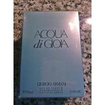 Giorgio Armani Acqua Di Gioia Perfume Dama 50 Ml