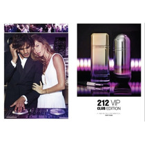 Perfume 212 Vip Club By Carolina Herrera Damacaballero 100ml