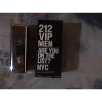 Perfume Para Caballero 212 Vip Men, De Carolina Herrera.