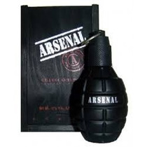 Colonia Arsenal Black 100 Ml Original