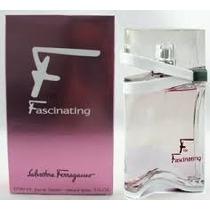 F For Fascinating Salvatore Ferragamo 90 Ml Original