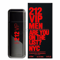 Perfume 212 Vip Black Carolina Herrera Caballeros, Hombre