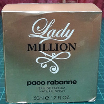 Perfume Lady Million Dama 100 % Original Traido De Usa