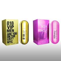 Perfume Para Caballero 818 Vip - Dama 818 Sexy - 100ml