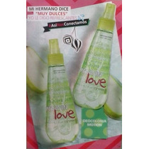 Splash Colonia Refrescante Pera In Love De Cyzone