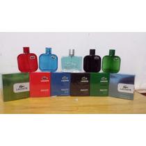 Perfumes Lacoste, Ch, Hugo Boss, Ferrari, Pacco Rabanne