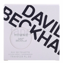 Perfume Original David Beckham Eu De Toilette 75ml Spray.