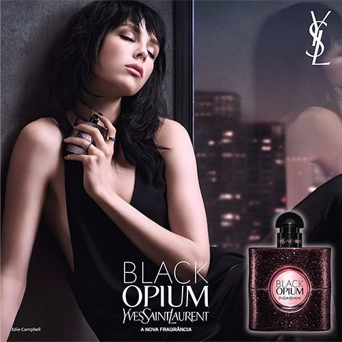 perfumes importados black opium 90 ml 100% original