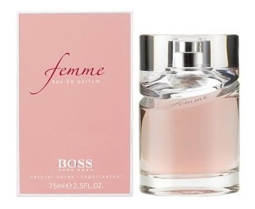 perfumes importados hugo boss femme 75ml eau de parfum