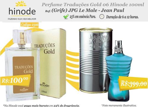 perfumes importados traduções gold hinode 100 ml