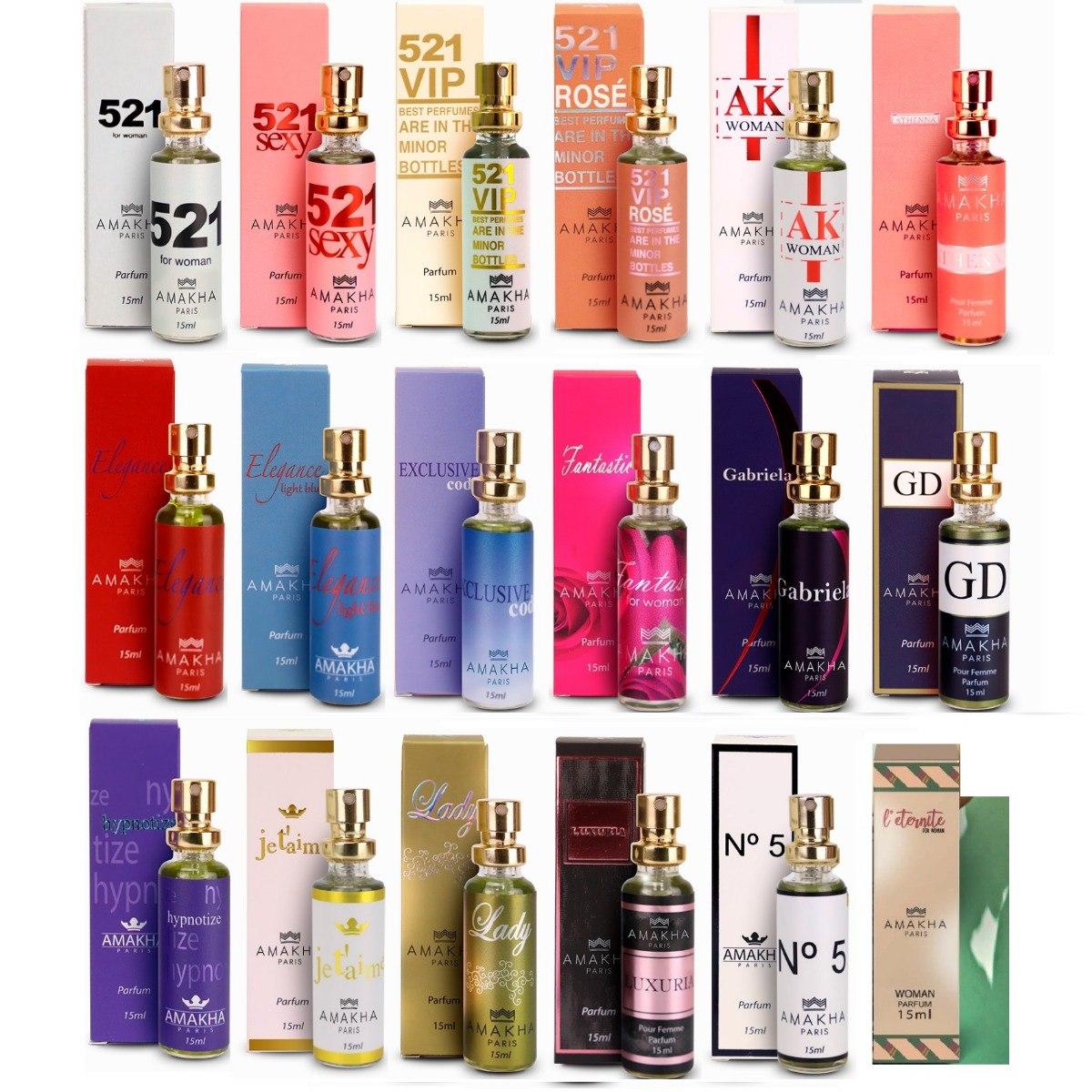 36f394c3d Perfumes Inspirados Nas Marcas Famosas Amakha Paris Fem/masc - R$ 33 ...