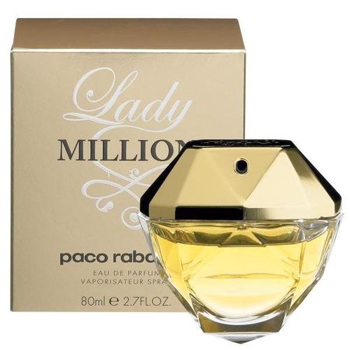 perfumes lady million 80 ml, 100% originais