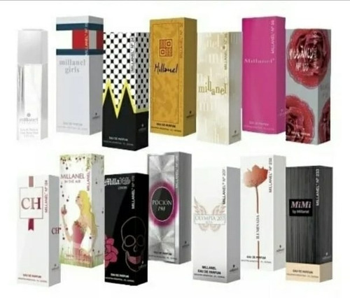 perfumes millanel 60 ml. fragancias alternativas femeninas