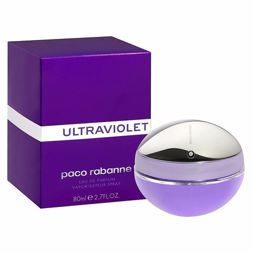 perfumes mujer paco rabanne ultraviolet 80 ml