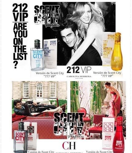 perfumes nuevos y a un costo considerable.