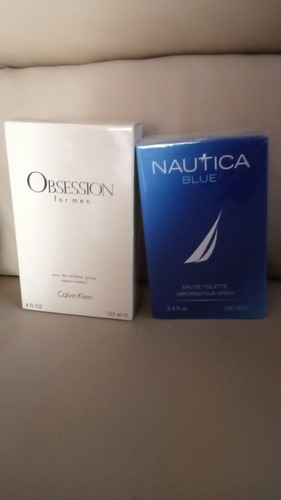 perfumes  obsession  y nautica nuevas originales