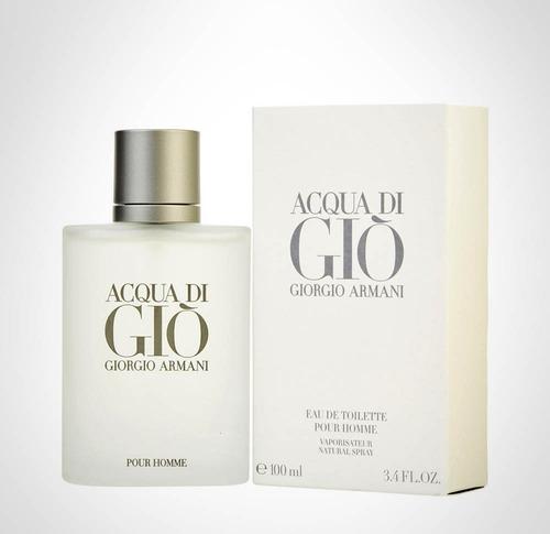 perfumes originales caballero acqua di gio de armani