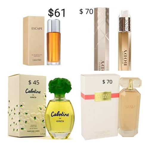 perfumes originales hombres y mujeres aceptamos tarjetas
