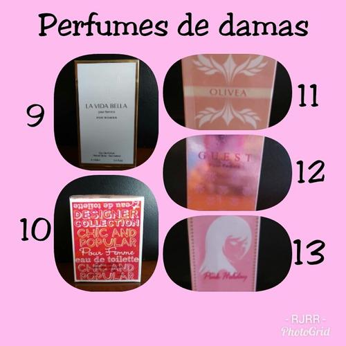 perfumes solo por docena