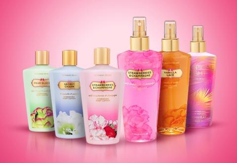perfumes splash y cremas victoria secret  dama al mayor
