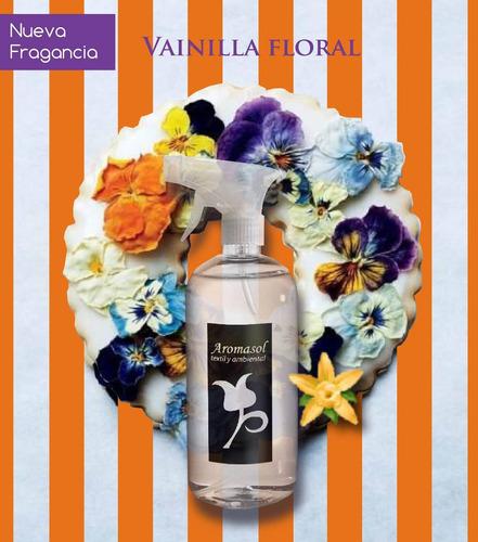 perfumes textiles x500cc aromasol, ¡esencias importadas!