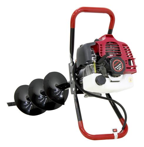 perfurador de solo 2hp gasolina broca 200x800mm 1,4kw