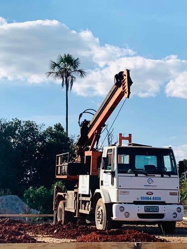 perfuratriz - hélice continua - fundações e concreto usinado