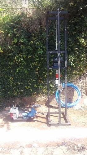 perfuratriz para poço semi artesiano até 100 metros
