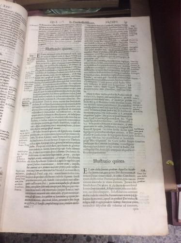 pergamino antiguo.expositio illvstratio ecclesiasticvm. 1640