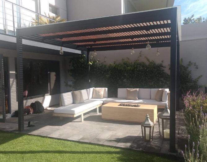Pergola para jardin o terraza 94 en mercado libre - Ikea terraza y jardin ...